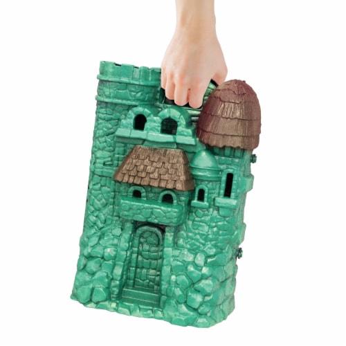 Mattel Masters of The Universe Origins Castle Greyskull Playset Perspective: left