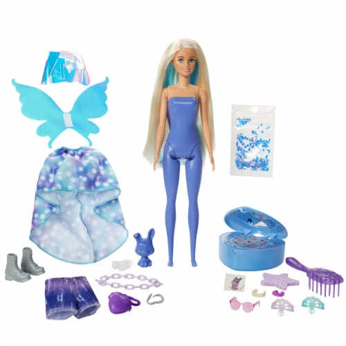 Mattel® Barbie® Color Reveal Peel Fairy Fashion Doll Perspective: left