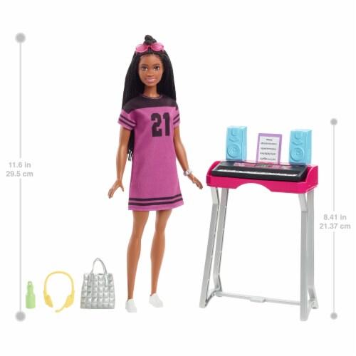 Mattel Barbie® Big City Big Dreams Doll and Playset Perspective: left