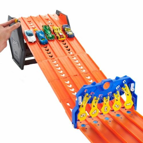 Mattel Hot Wheels® Roll Out Raceway Track Set Perspective: left