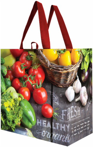 Earthwise Reusable Bag Perspective: left