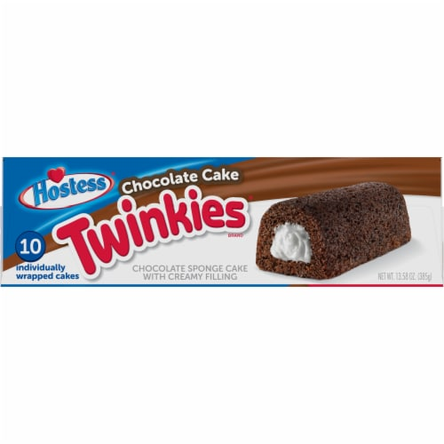 Hostess Chocolate Cake Twinkies Perspective: left