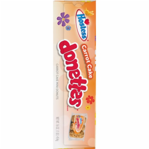 Hostess Limited Edition Carrot Cake Donettes On The Go Perspective: left