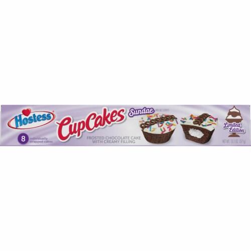Hostess Sundae Cupcakes Perspective: left