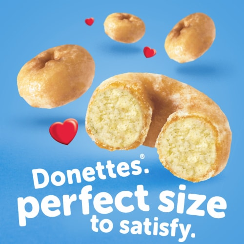 Hostess Glazed Donettes Donuts Perspective: left