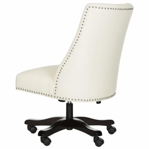 Scarlet Desk Chair Creme Perspective: left