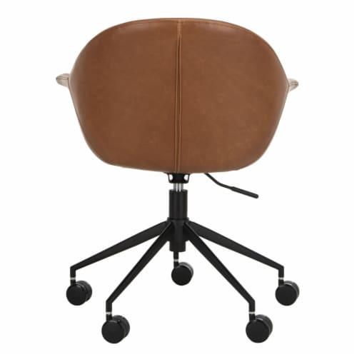Ember Office Chair Cognac Perspective: left