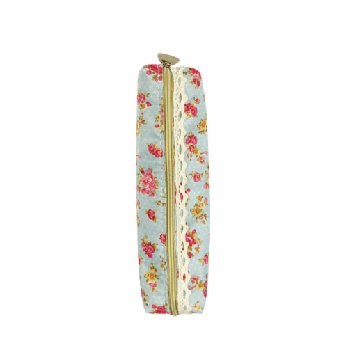 Wrapables Trendy Food Pencil Case and Stationery Pouches (Set of 3), Pink Perspective: left