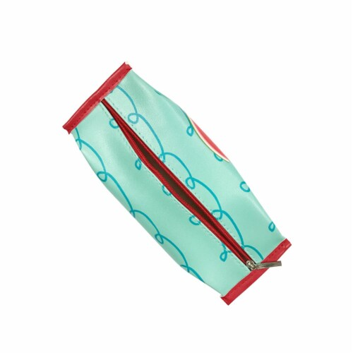 Wrapables Trendy Food Pencil Case and Stationery Pouches (Set of 3), Watermelon Perspective: left