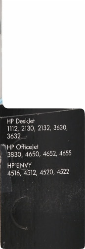 HP 63 Ink Cartridge - Black Perspective: left