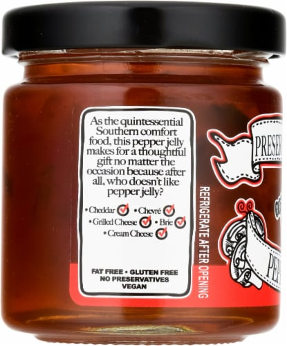 The Preservation Society Pepper Jelly Perspective: left