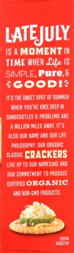 Late July Organic Classic Rich Crackers Perspective: left