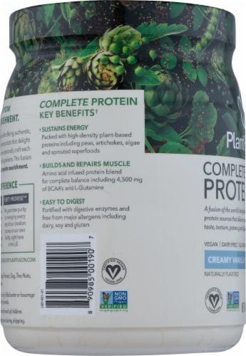 PlantFusion Vanilla Bean Plant Protein Powder Perspective: left