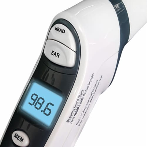 Prime Ear & Forehead THERMOMETER Perspective: left