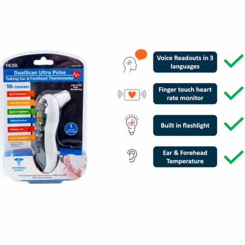 Ultra Pulse THERMOMETER Perspective: left
