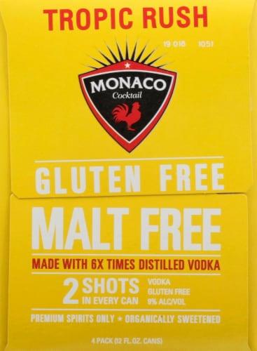 Monaco Tequila Lime Crush Malt Beverage Perspective: left