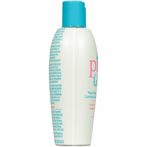 Pink Water Water-Based Personal Lubricant Perspective: left