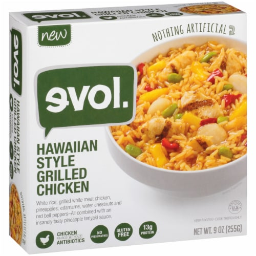 Evol Hawaiian Style Grilled Chicken Perspective: left