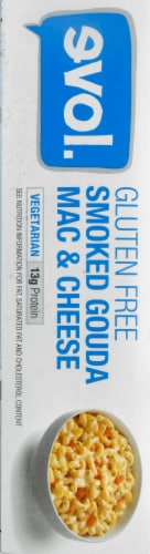 evol. Gluten Free Smoked Gouda Mac & Cheese Perspective: left