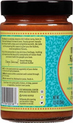 Maya Kaimal Tikka Masala Mild Indian Simmer Sauce Perspective: left