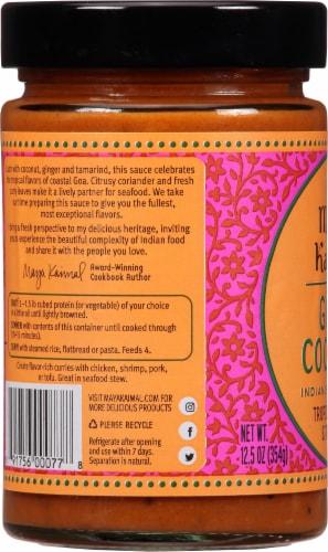 Maya Kaimal Goan Coconut Indian Simmer Sauce Perspective: left