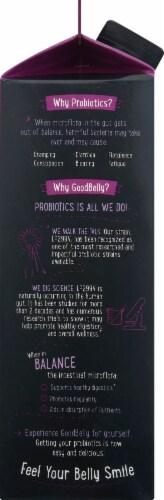GoodBelly Pomegranate Blackberry Fruit Juice Perspective: left