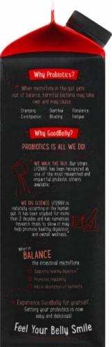 GoodBelly Probiotics Strawberry Banana Juice Drink Perspective: left