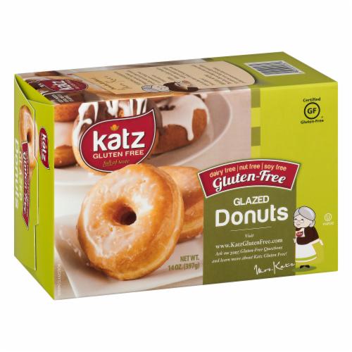 Katz Gltuen-Free Glazed Donuts Perspective: left