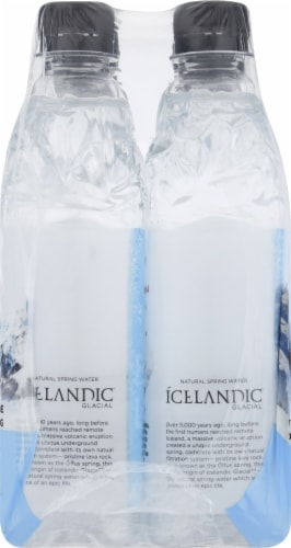 Icelandic Glacial H2O Natural Spring Water Perspective: left