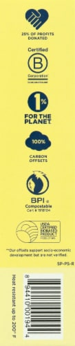 World Centric Compostable Spoons Perspective: left