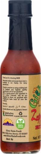 Gilberto's Gourmet Goodness Zesty Cayenne Hot Sauce Perspective: left