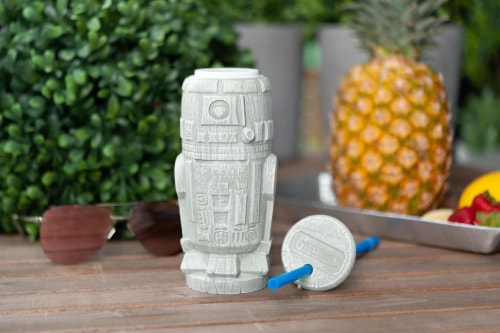 Geeki Tikis Star Wars R2-D2 Plastic Tumbler   Holds 21 Ounces Perspective: left