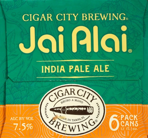 Cigar City Brewing Jai Alai India Pale Ale Perspective: left