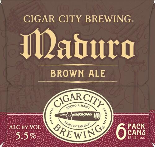 Cigar City Brewing Maduro Brown Ale Perspective: left