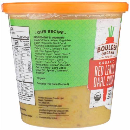 Boulder Organic Lentil Red Dahl Soup Perspective: left
