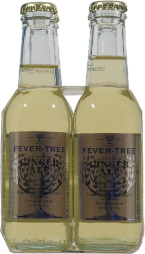 Fever Tree Ginger Ale Perspective: left