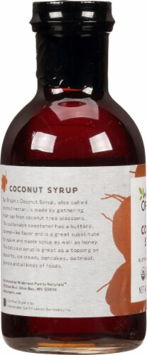 Wildly Organic  Coconut Syrup Perspective: left