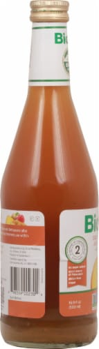 Biotta Golden Beet Juice Blend with Tumeric Perspective: left