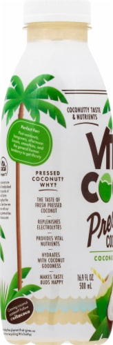 Vita Coco Pressed Coconut Water Perspective: left