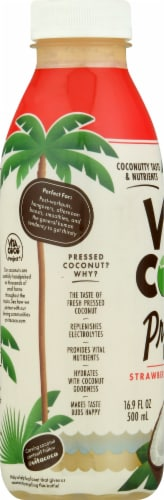 Vita Coco Strawberry Banana Pressed Coconut Water Perspective: left