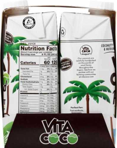 Vita Coco The Original Pressed Coconut Water Perspective: left