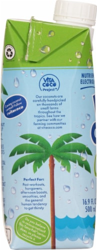 Vita Coco Pineapple Coconut Water Perspective: left