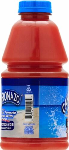 Camaronazo Tomato & Shrimp Juice Cocktail Perspective: left