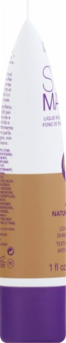 Rimmel Stay Matte 400 Natural Beige Liquid Mousse Foundation Perspective: left
