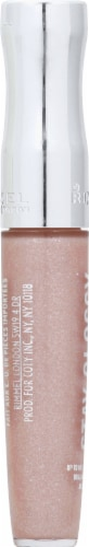 Rimmel Stay Glossy Dorchester Rose Lip Gloss Perspective: left