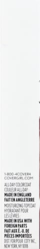 CoverGirl Outlast All Day 140 Good Mauve Lip Color Perspective: left