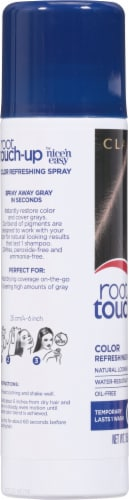 Clairol Root Touch-up Black Color Refreshing Spray Perspective: left