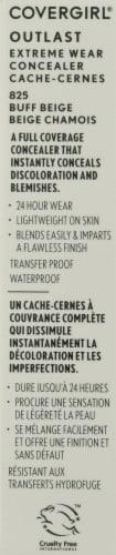 CoverGirl Outlast 825 Buff Beige Extreme Wear Liquid Concealer Perspective: left