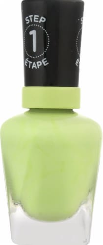 Sally Hansen Miracle Gel Neon 052 Electri-Lime Nail Color Perspective: left