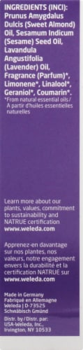 Weleda Relaxing Lavender Body Oil Perspective: left
